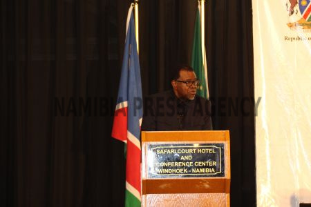 74b1d8acbafd ... Geingob on Monday chastised the employees of the Namibian Broadcasting  Corporation (NBC) for holding their director general
